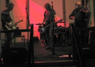 performing with 'What's left of the Whiskey'